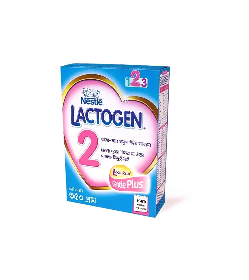 Nestlé LACTOGEN 2 Follow up Formula With Iron (6 months +) BIB 350gm